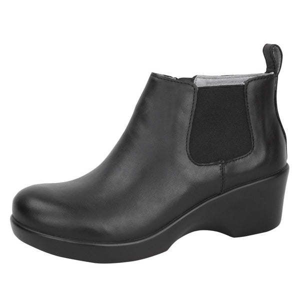 Ever Black Nappa Boot - Alegria Shoes