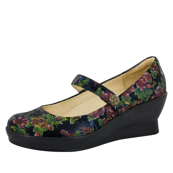 Flair Winter Garden Wedge - Alegria Shoes - 1