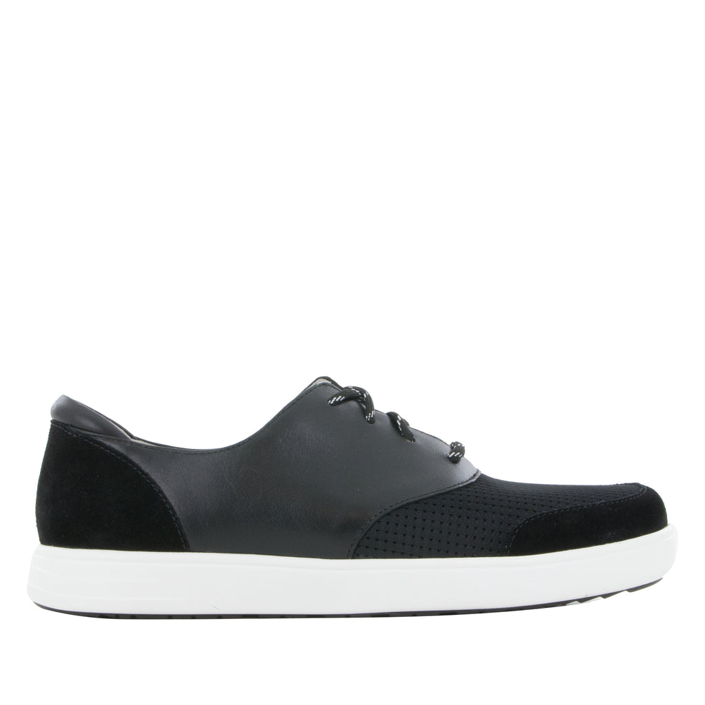 Alegria Men's Flexer Black Shoe