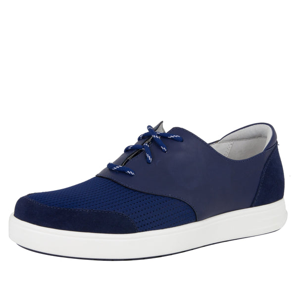 Alegria Men's Flexer Blue Shoe