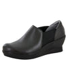 Fraya Black Nappa Shoe - Alegria Shoes - 1