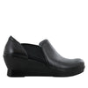 Fraya Black Nappa Shoe - Alegria Shoes - 2