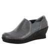 Fraya Grey Glaze Shoe - Alegria Shoes - 1