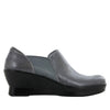 Fraya Grey Glaze Shoe - Alegria Shoes - 2