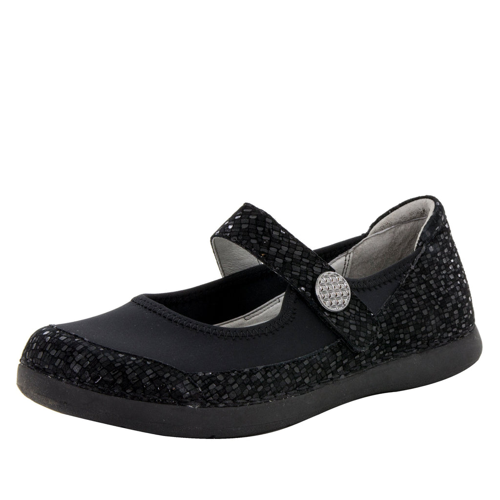 Gem Tile Me More Black Shoe