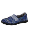 Glee Wavy Navy Flat - Alegria Shoes - 1