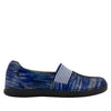 Glee Wavy Navy Flat - Alegria Shoes - 3