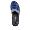Glee Wavy Navy Flat - Alegria Shoes - 5
