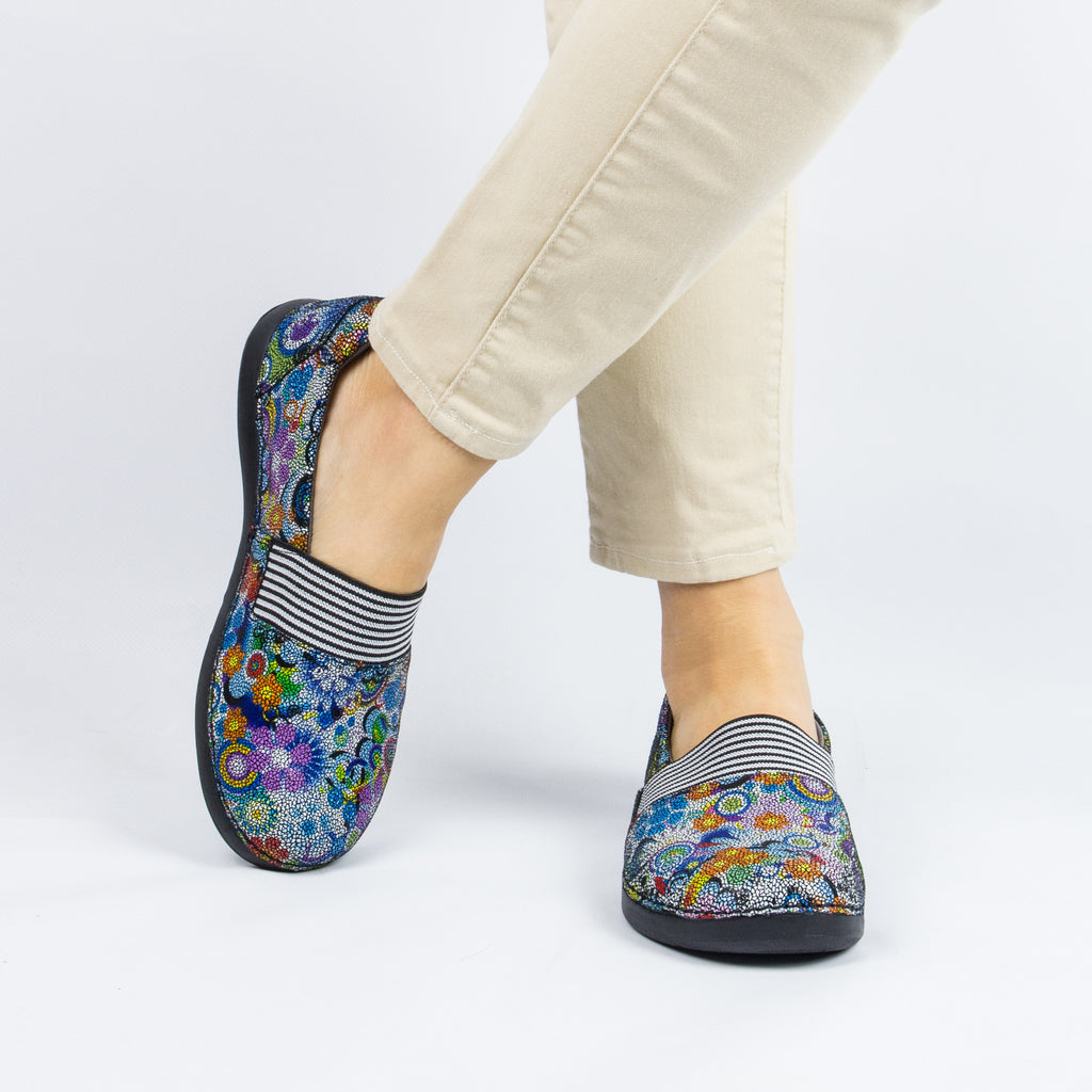 Glee Hippie Chic Dottie Flat - Alegria Shoes - 2