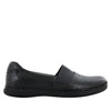 Glee Black Nappa Flat - Alegria Shoes - 2