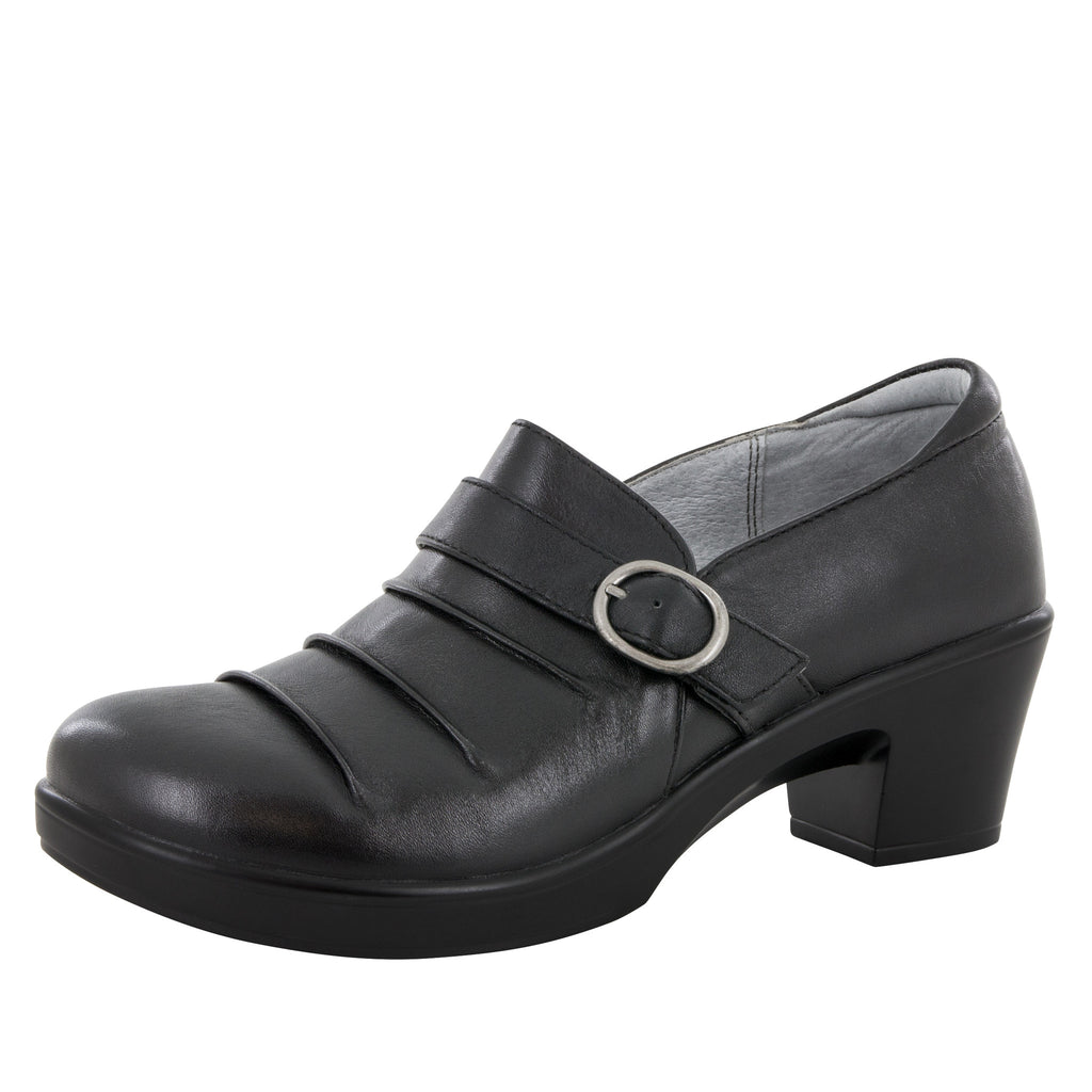 Halli Black Nappa Shoe - Alegria Shoes - 1
