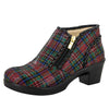 Hannah Tartan Boot - Alegria Shoes - 1