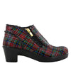Hannah Tartan Boot - Alegria Shoes - 2