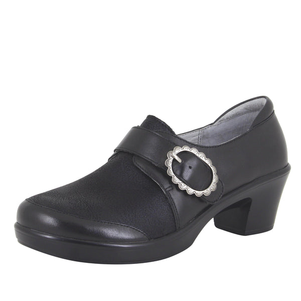 Holli Black Burnish Shoe