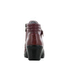 Indi Oxblood Bloom Boot - Alegria Shoes - 3