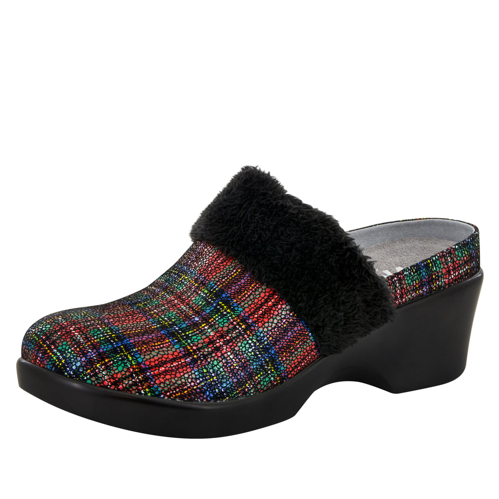 Isabelle Tartan Shoe - Alegria Shoes - 1