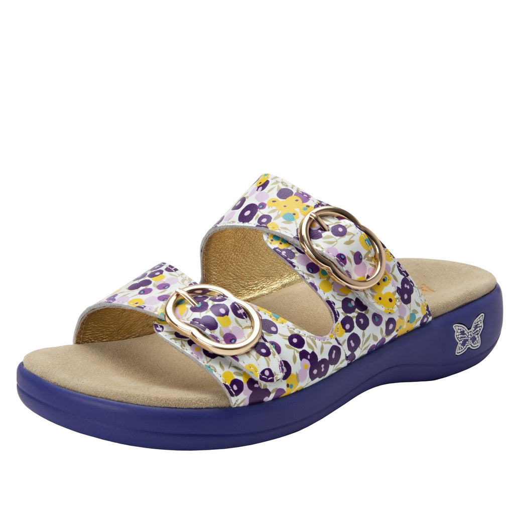 Jade Berry Sweet Purple sandal on pro casual outsole - JAD-778_S1