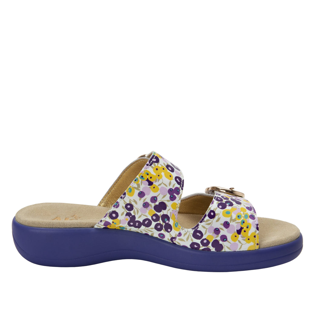 Jade Berry Sweet Purple sandal on pro casual outsole - JAD-778_S2