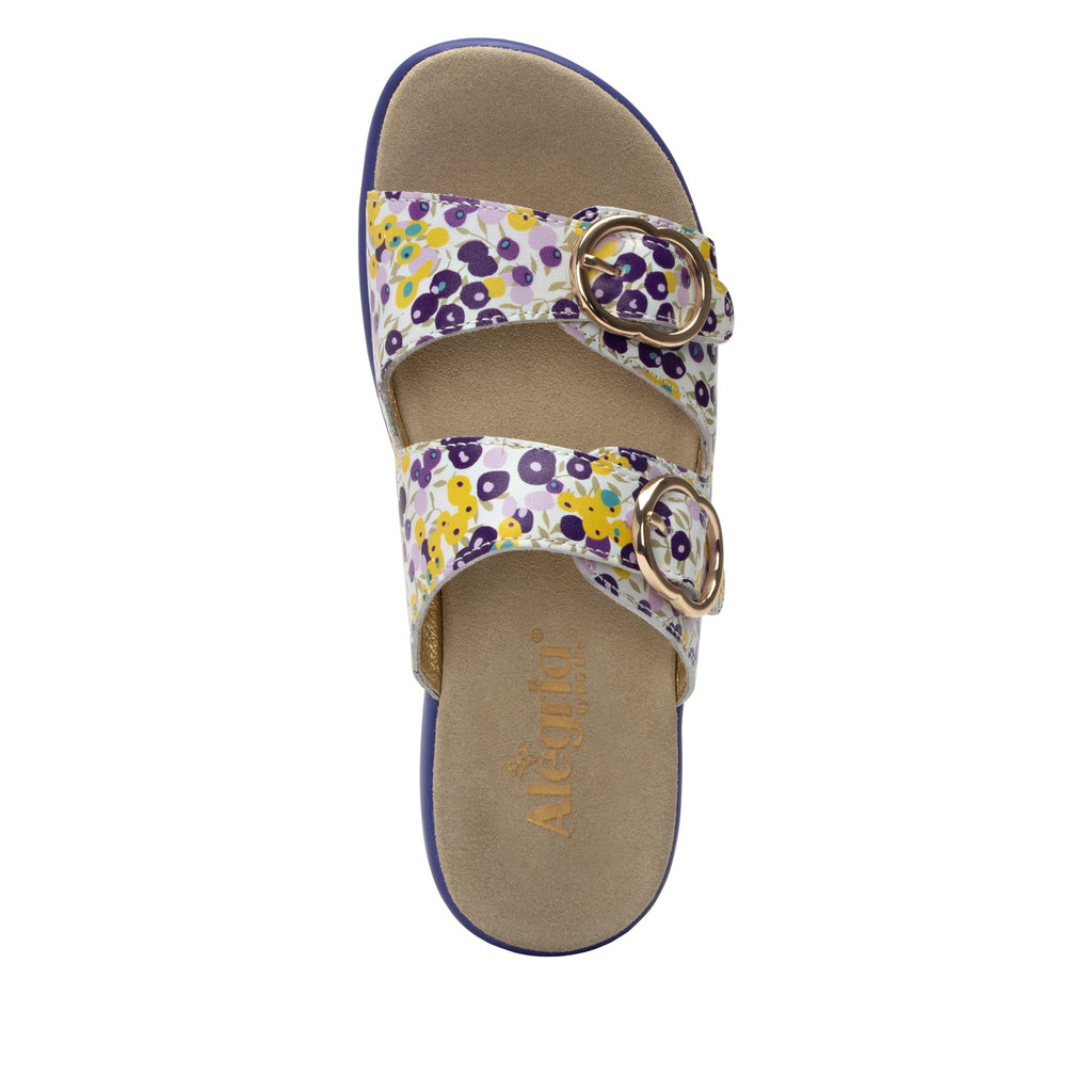 Jade Berry Sweet Purple sandal on pro casual outsole - JAD-778_S4