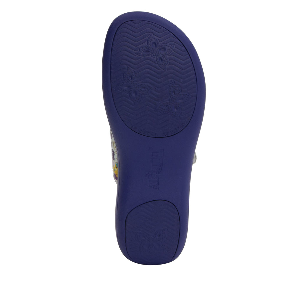 Jade Berry Sweet Purple sandal on pro casual outsole - JAD-778_S5