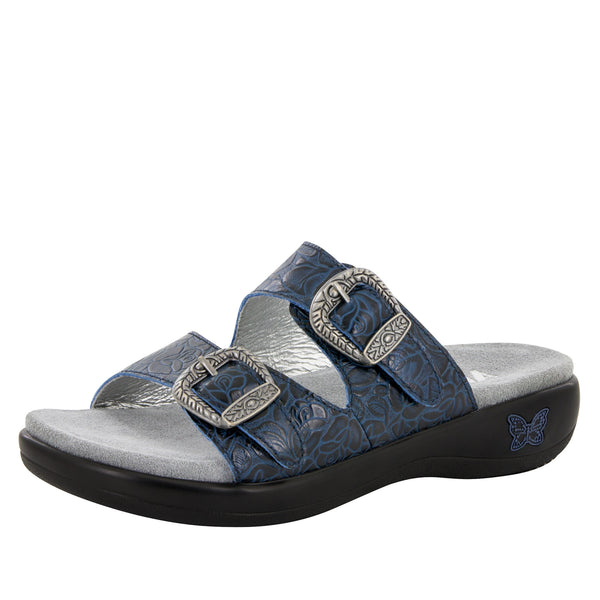 Jade Cowgirl Blues Sandal