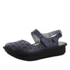 Jemma Navy Sandal - Alegria Shoes - 1