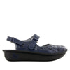 Jemma Navy Sandal - Alegria Shoes - 3
