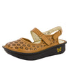 Jemma Cognac Burnish Sandal - Alegria Shoes - 1
