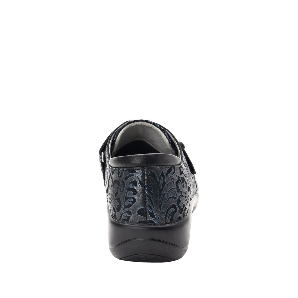 Joleen Navy Swish professional shoe with adjustable strap closure on the career casual outsole - JOL-262_S3
