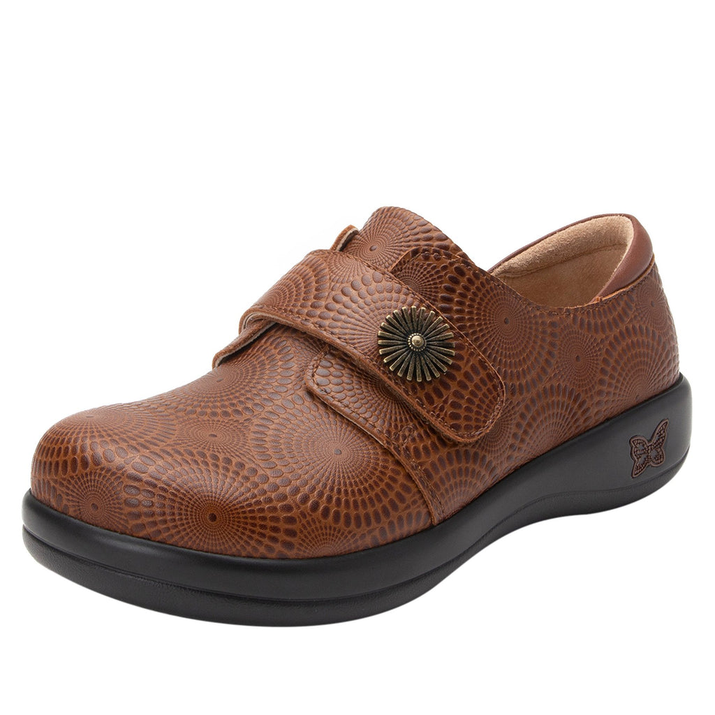 Joleen Brandy professional shoe with adjustable strap closure on the career casual outsole - JOL-273_S1