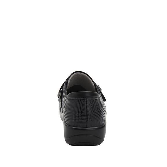 Joleen Plaidly Professional Shoe with adjustable strap on the Career Casual outsole - JOL-7854_S3