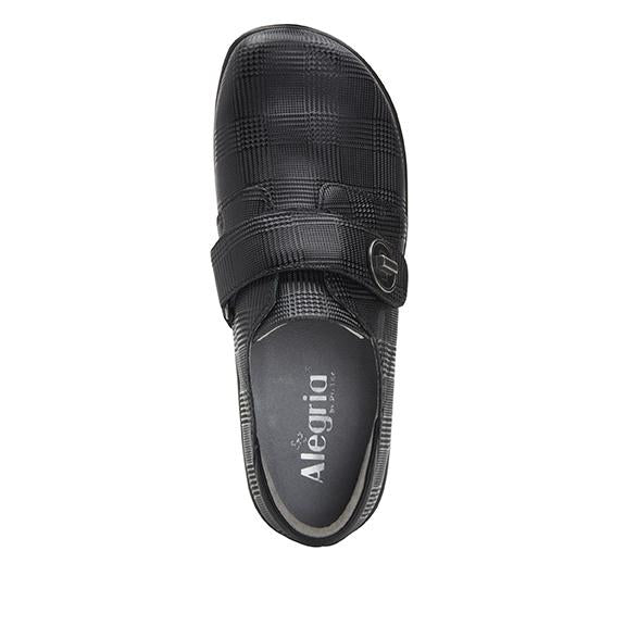 Joleen Plaidly Professional Shoe with adjustable strap on the Career Casual outsole - JOL-7854_S4