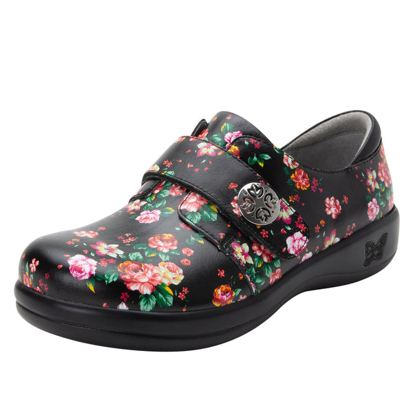 Joleen Blossom professional shoe with adjustable strap closure on the career casual outsole - JOL-911_S1