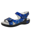 Joy Blue Persuasion Sandal - Alegria Shoes - 1