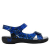 Joy Blue Persuasion Sandal - Alegria Shoes - 2