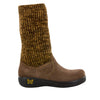 Juneau Choco Gold Water-Resistant Boot - Alegria Shoes - 2