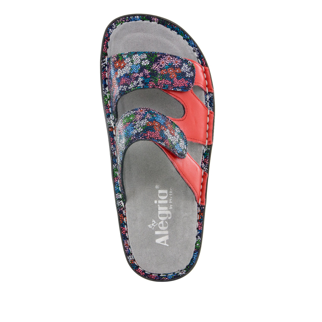 Camille Botanicool Sandal with dual adjustable strap on Classic rocker outsole - CAM-225_S5 (499269599286)