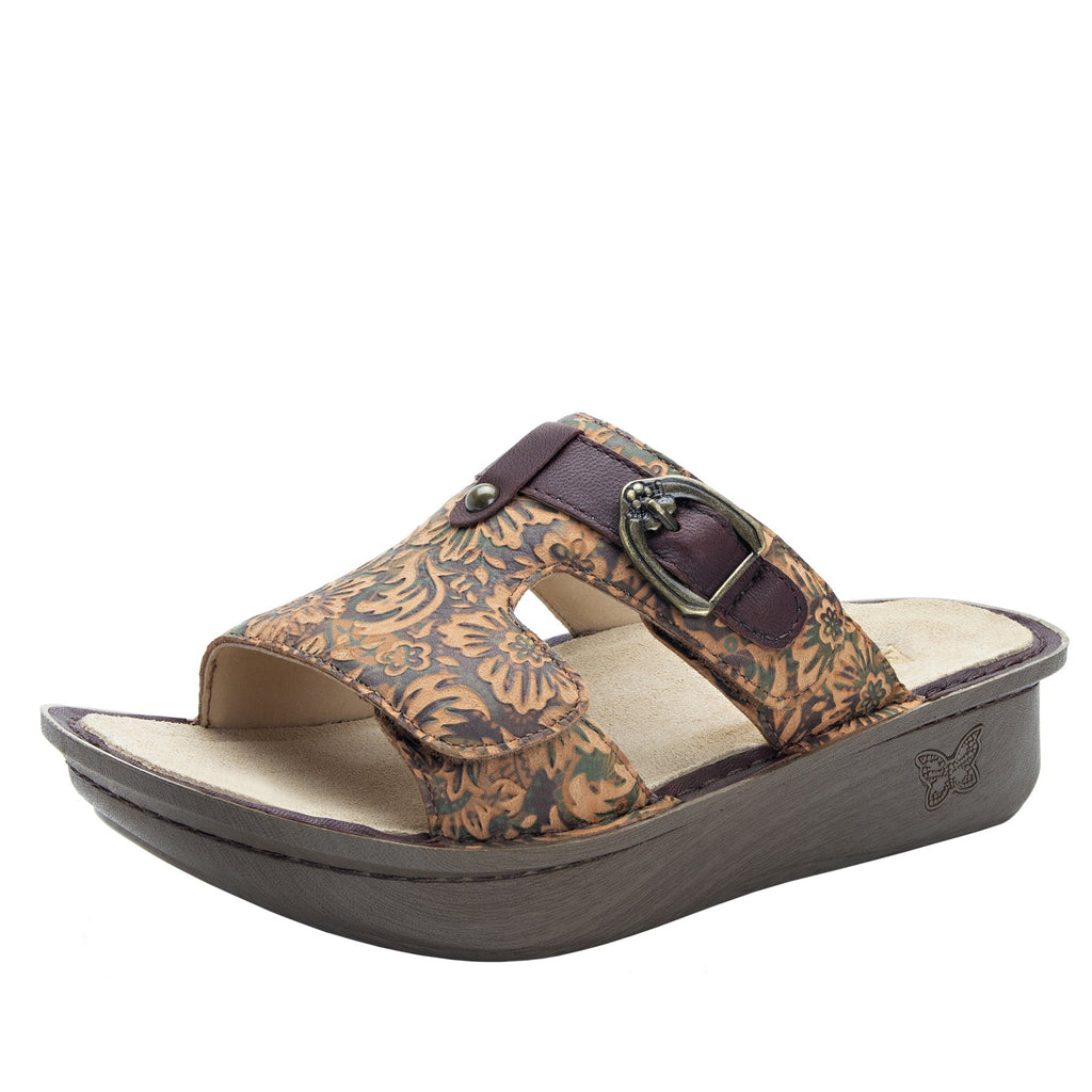 Kasha Country Road gladiator style sandal on classic rocker outsole- KAS-166_S1