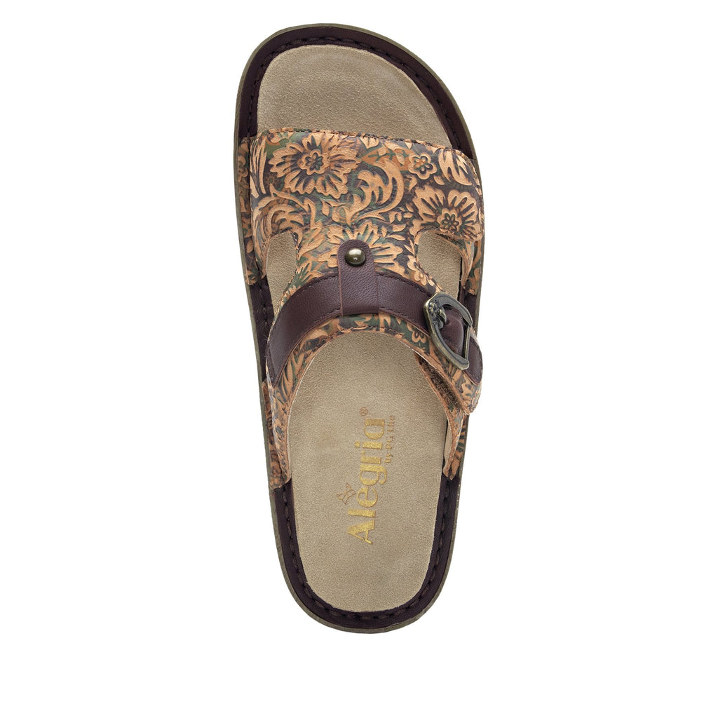 Kasha Country Road gladiator style sandal on classic rocker outsole- KAS-166_S4
