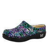 Kayla Hibiscus & Co Professional Shoe - Alegria Shoes - 1