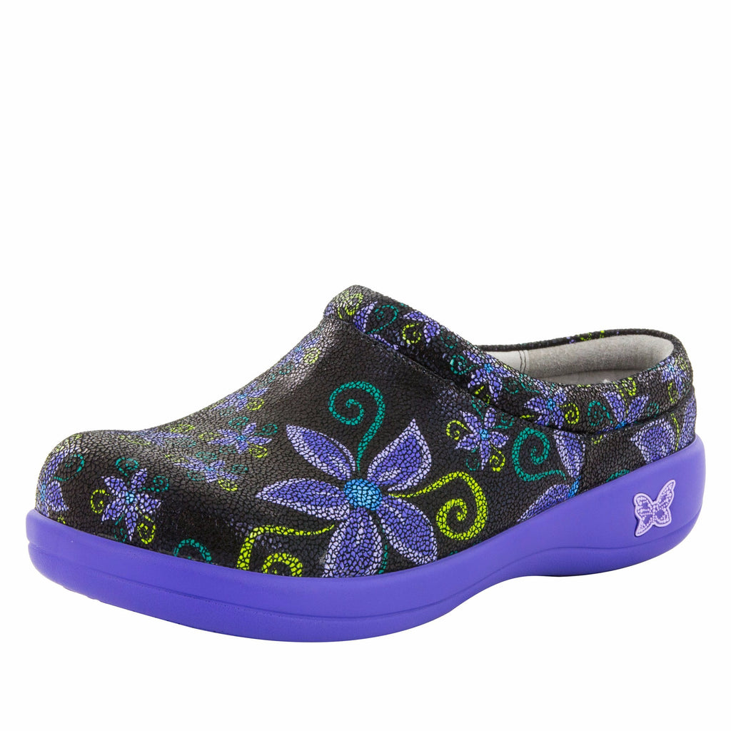 Kayla Professional Wild Flower Clog, with stain-resistant upper - KAY-836_S1 (730865762358)