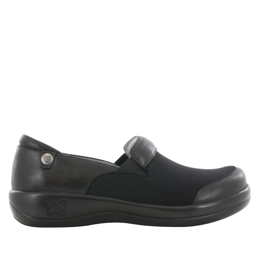 Keli Black Nappa Stretch Shoe (6089089537)
