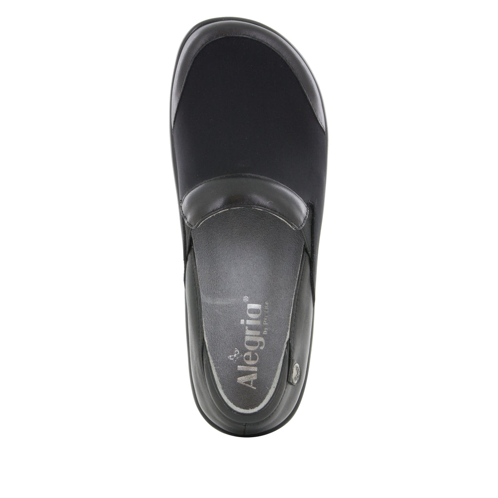 Keli Black Nappa Stretch Shoe
