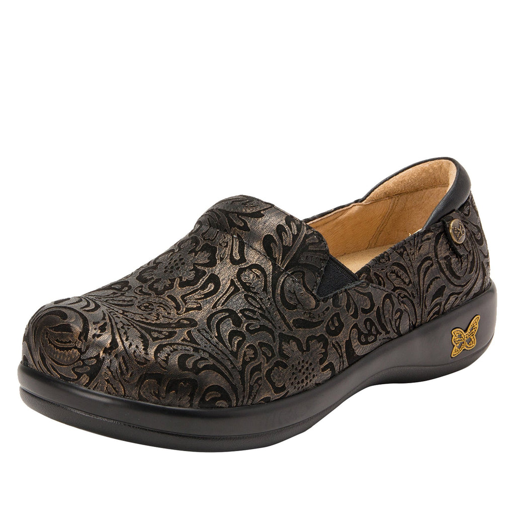 Keli Bronze Swish slip on style shoe with career casual outsole - KEL-184_S1