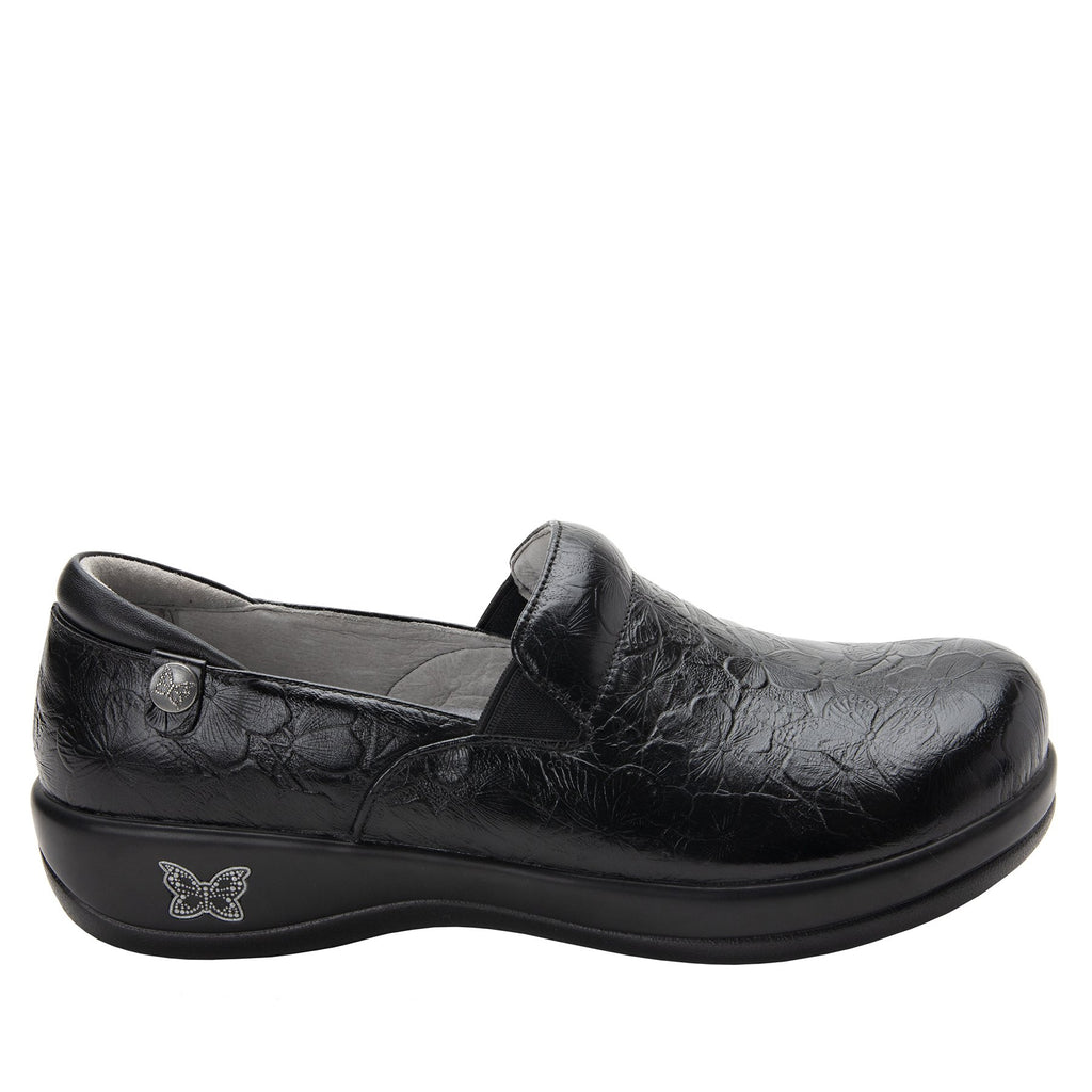 Keli Flutter Black slip on style shoe with career casual outsole - KEL-274_S2