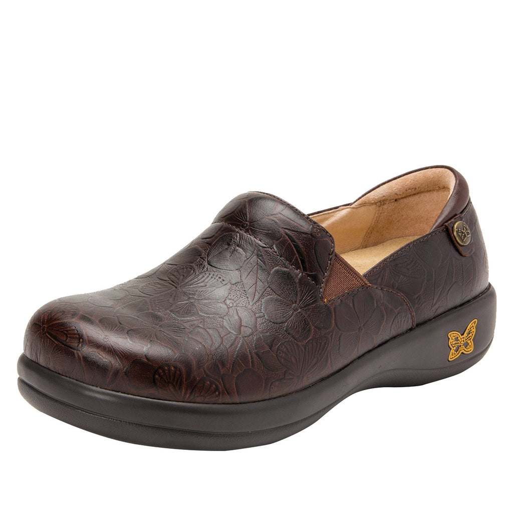 Keli Flutter Choco slip on style shoe with career casual outsole - KEL-275_S1