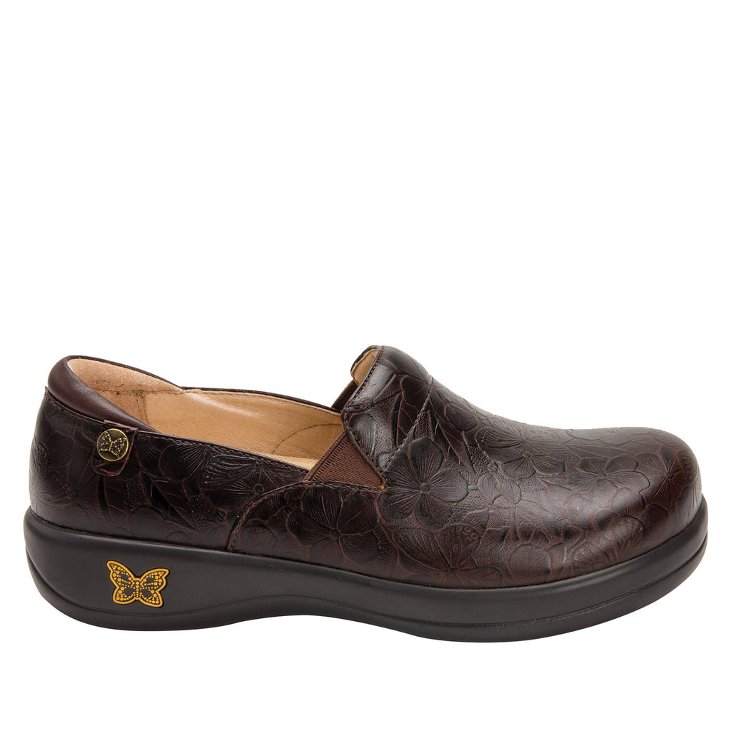 Keli Flutter Choco slip on style shoe with career casual outsole - KEL-275_S2 (2210593931318)