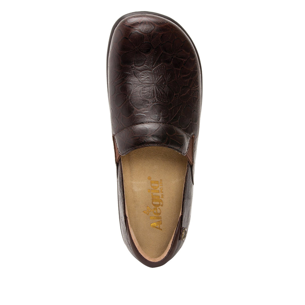 Keli Flutter Choco slip on style shoe with career casual outsole - KEL-275_S4 (2210593931318)