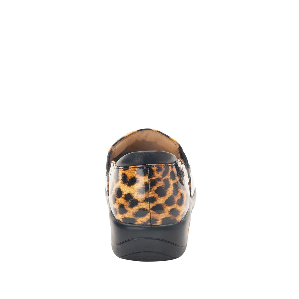 Keli Leopard slip on style shoe with career casual outsole - KEL-402_S3