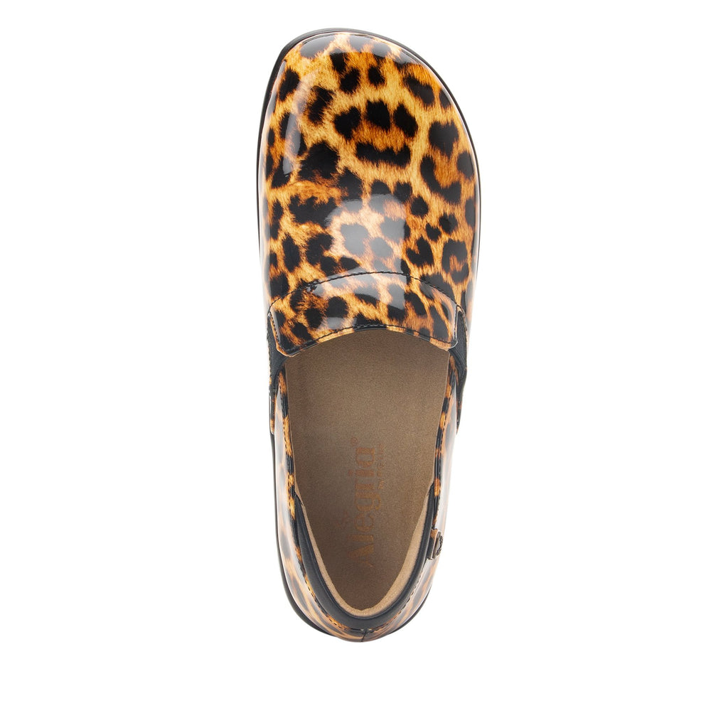 Keli Leopard slip on style shoe with career casual outsole - KEL-402_S4